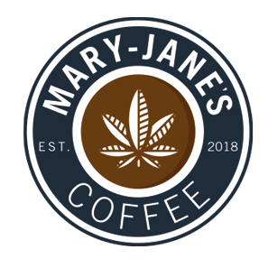 Mary-Jane's coffee logo branding