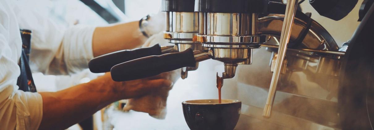 Making Mary-Jane's coffee machines