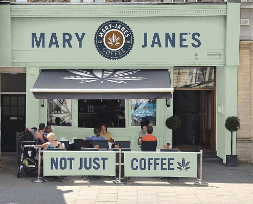 our shop front at Mary-Jane's in Bristol